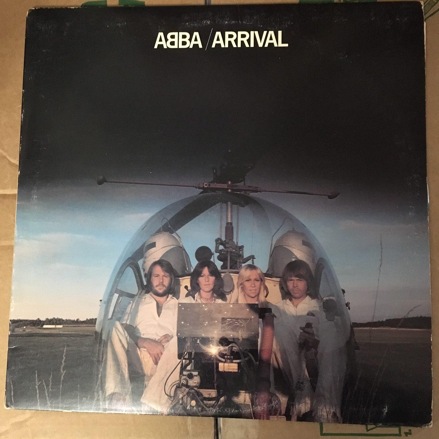ABBA Arrival album cover