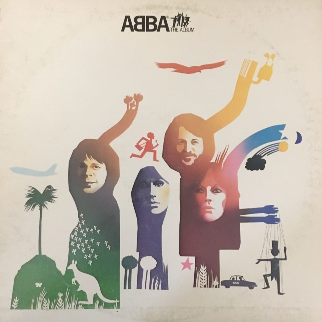 ABBA The Album Front Cover