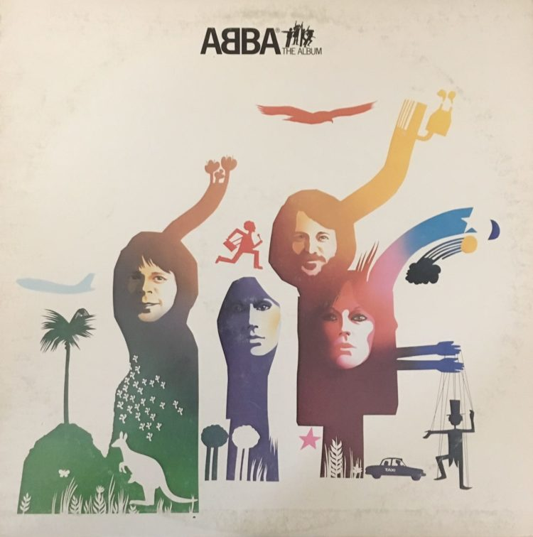 ABBA The Album Front Cover