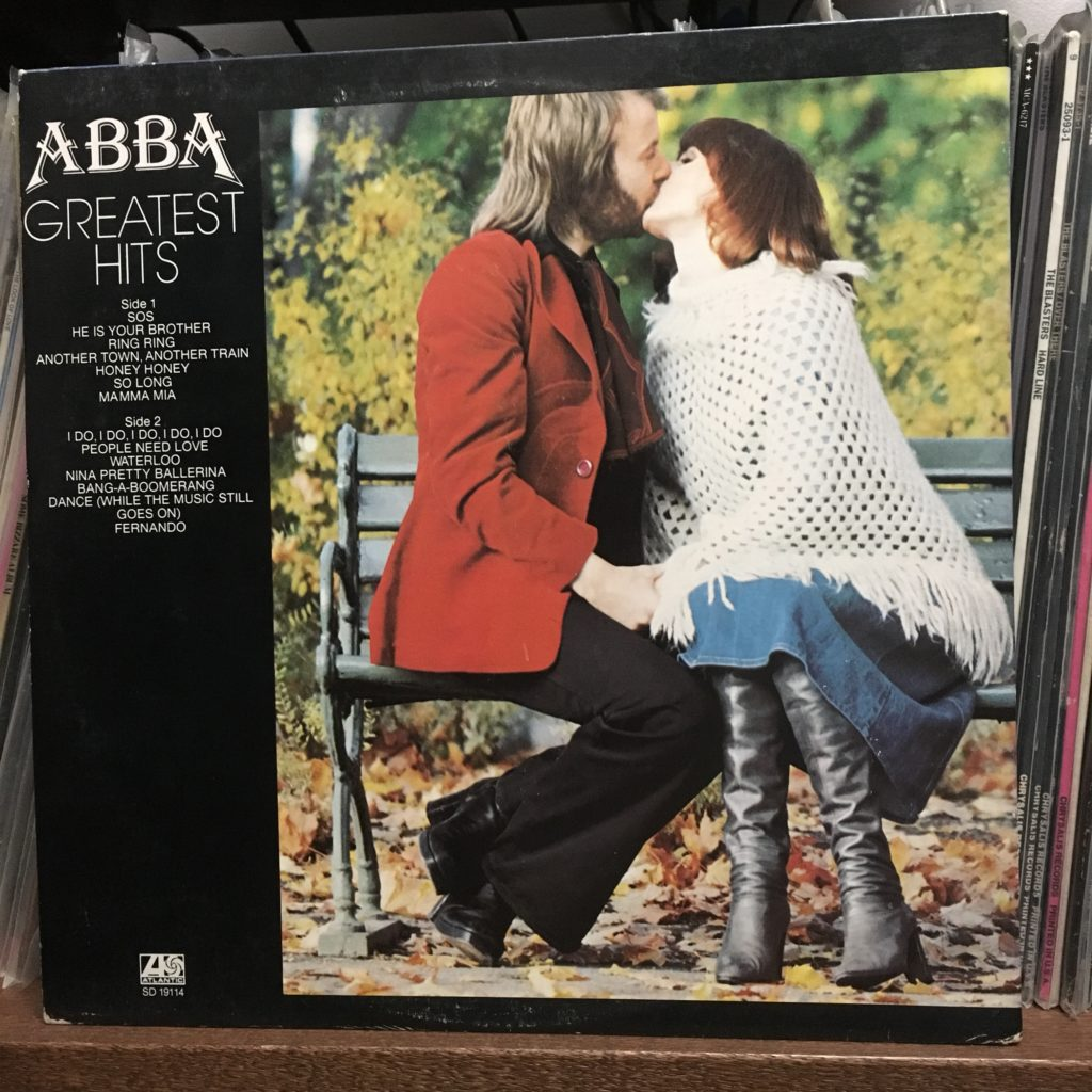 ABBA Greatest Hits Back Cover
