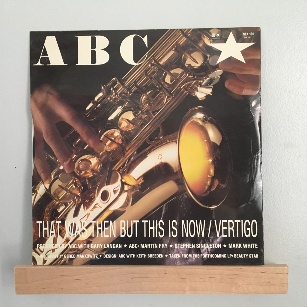 "ABC That Was Then This Is Now 12"" back"