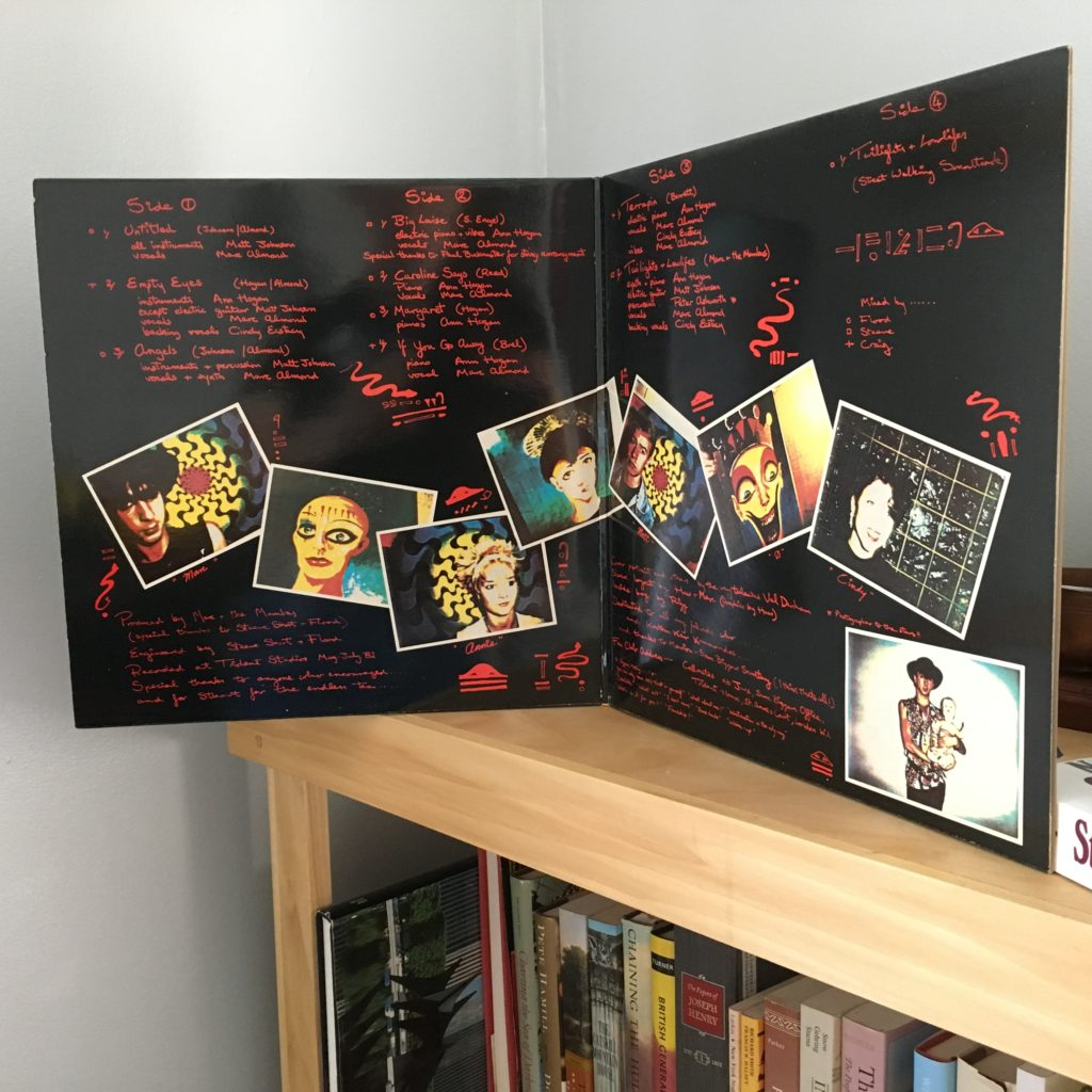Marc and the Mambas -- Untitled Gatefold