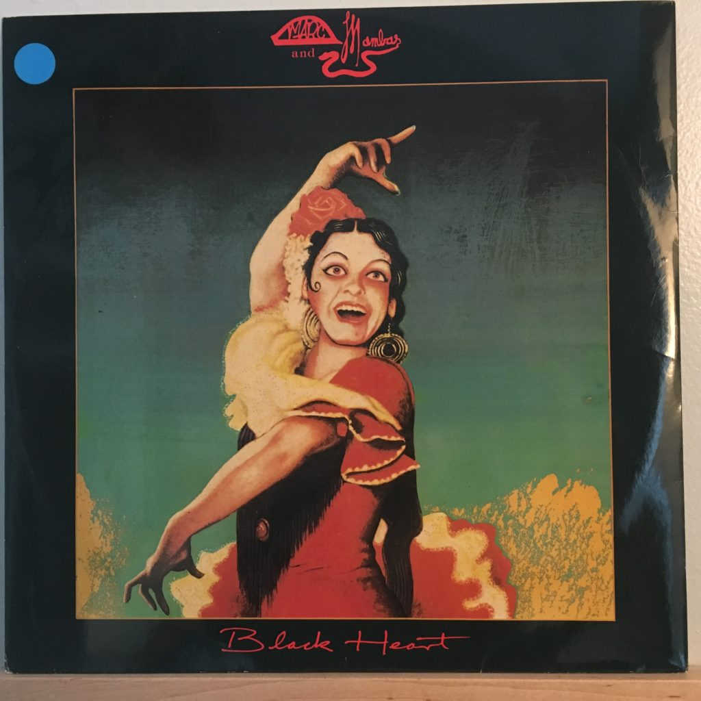 Front cover of Black Heart 12""