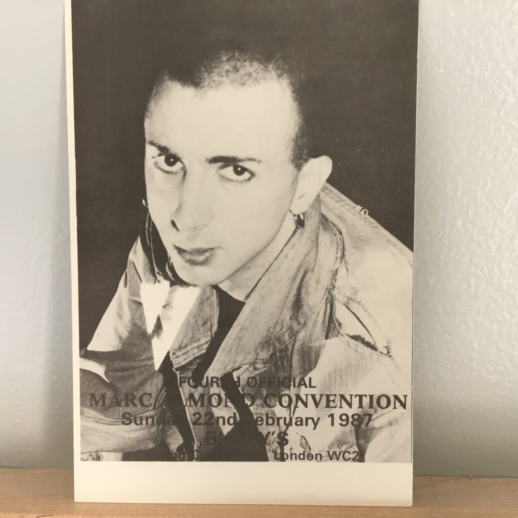 Fourth Official Marc Almond Convention 1987