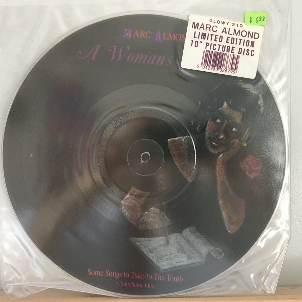 A Woman's Story Picture Disc Original Sleeve