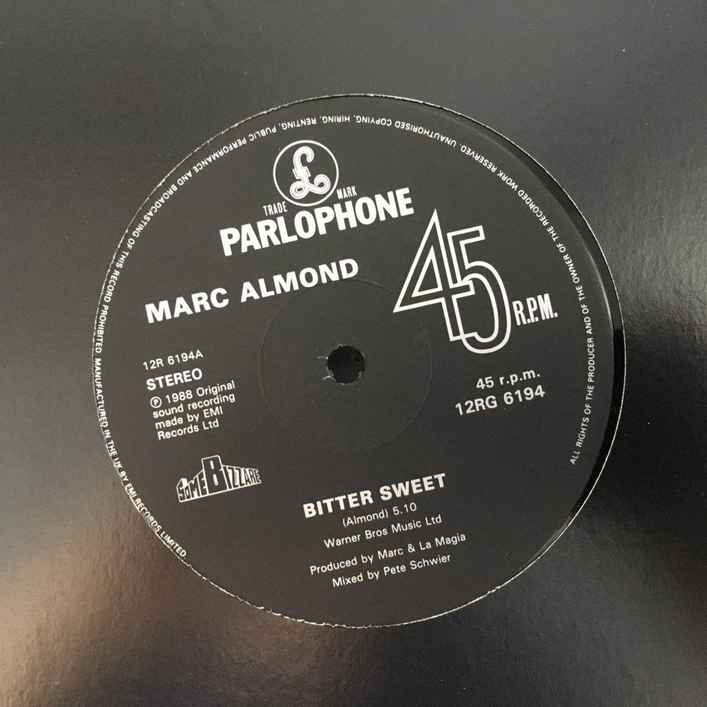Bitter Sweet single label