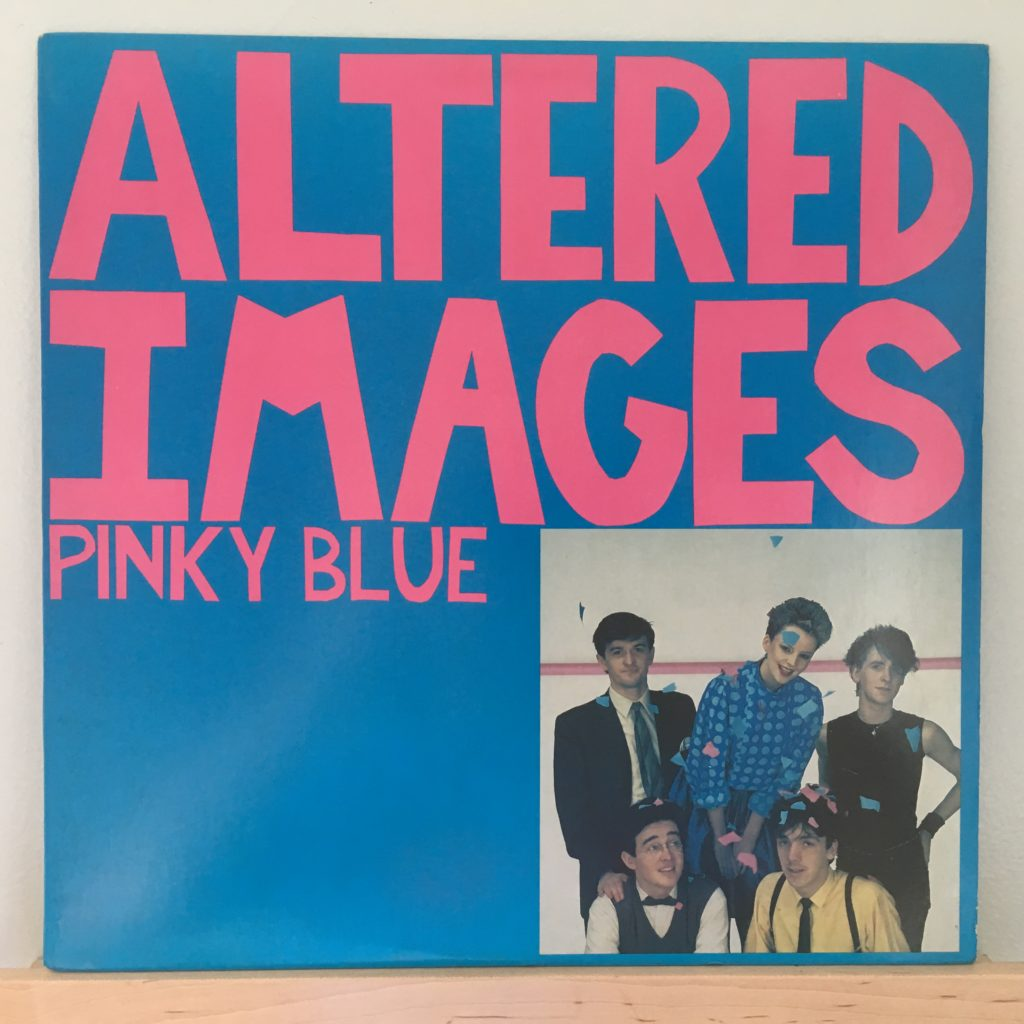 Pinky Blue Album Front Cover