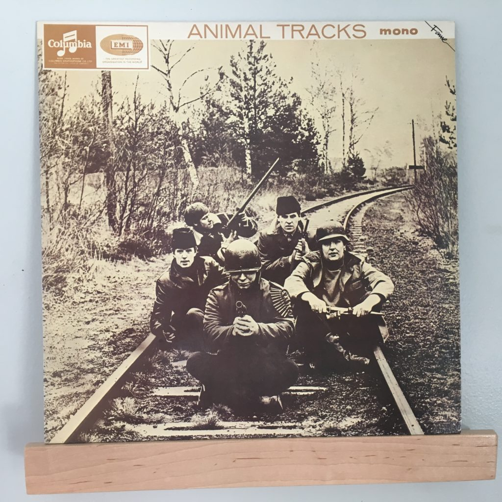 Animal Tracks UK Front Cover