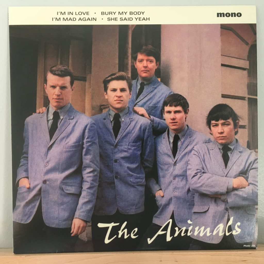 The Animals EP front cover