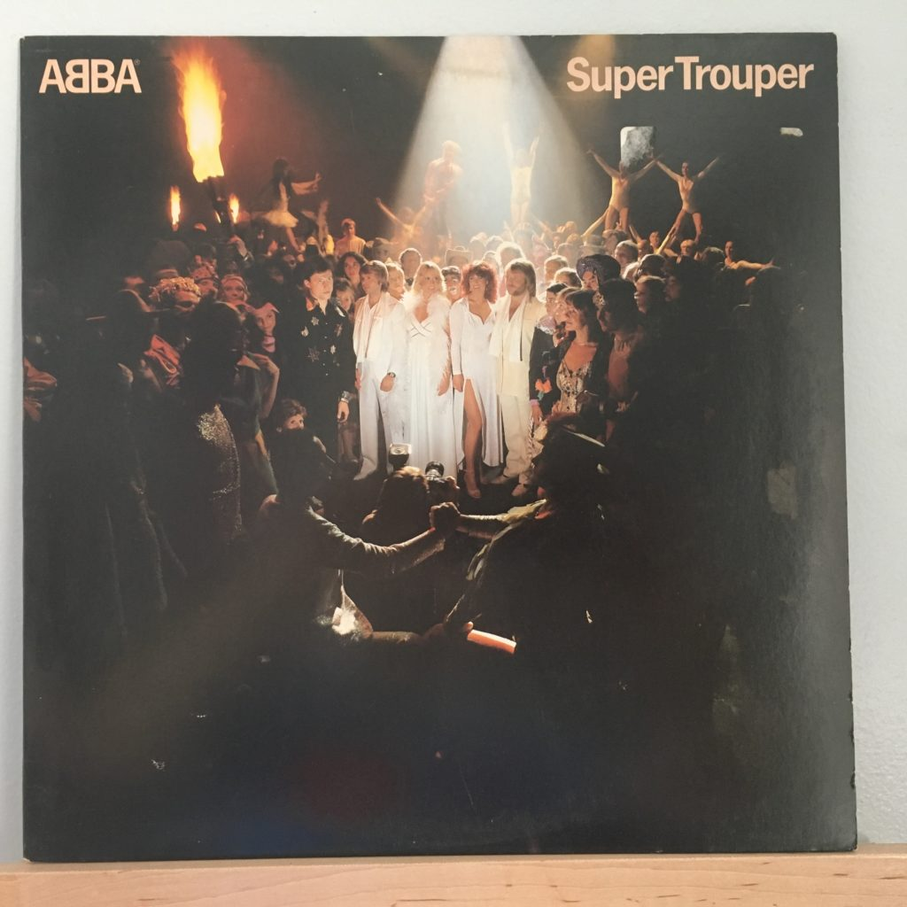 ABBA Super Trouper front cover