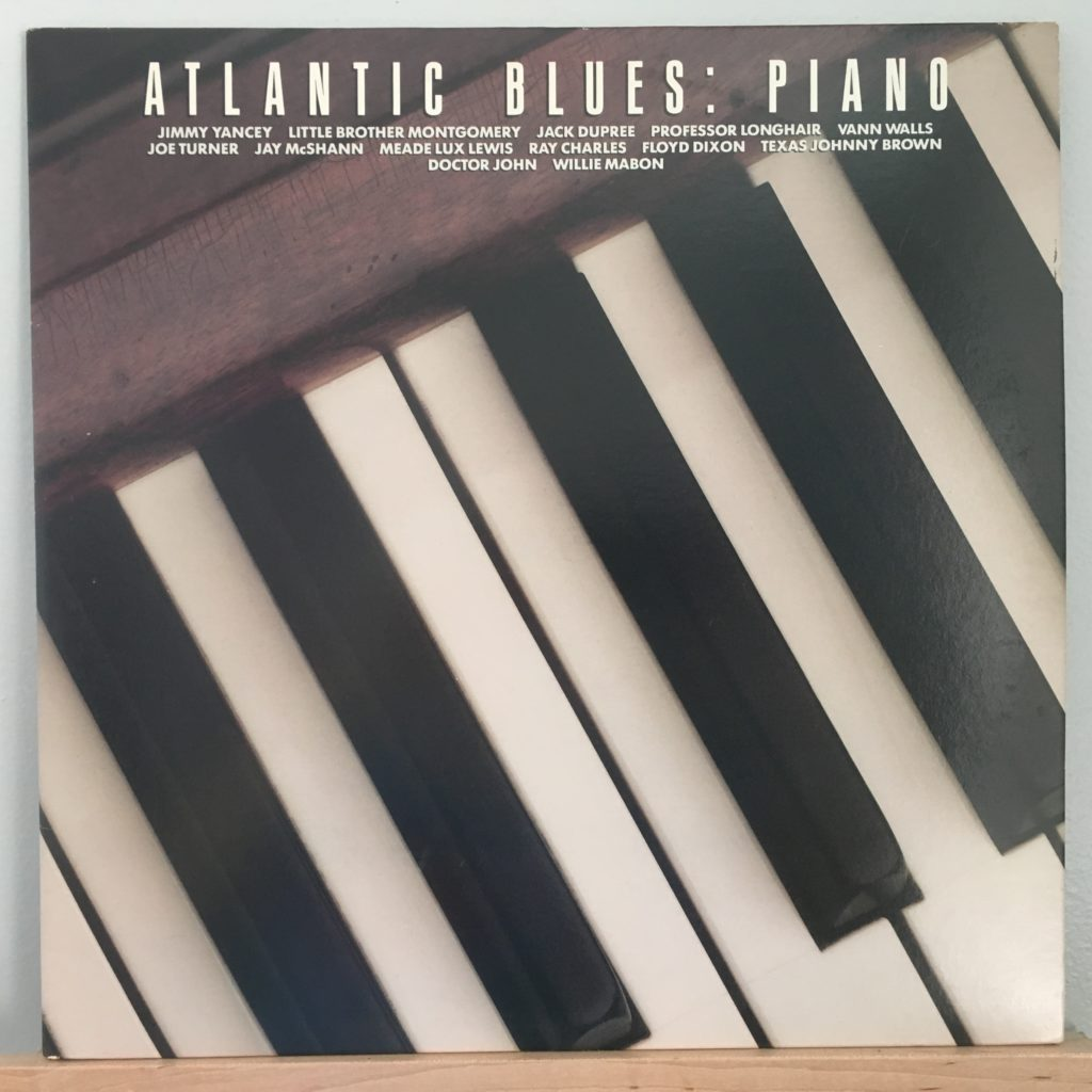 Atlantic Blues: Piano front cover