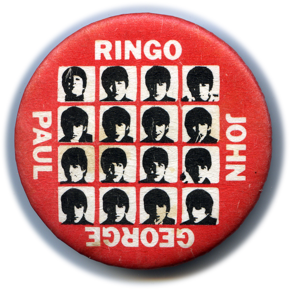The Beatles - Hard Day's Night Button