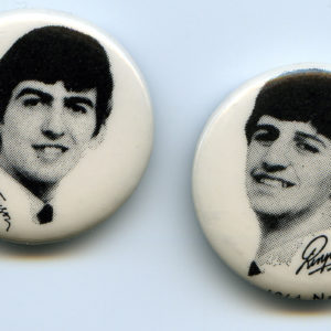 George and Ringo Buttons