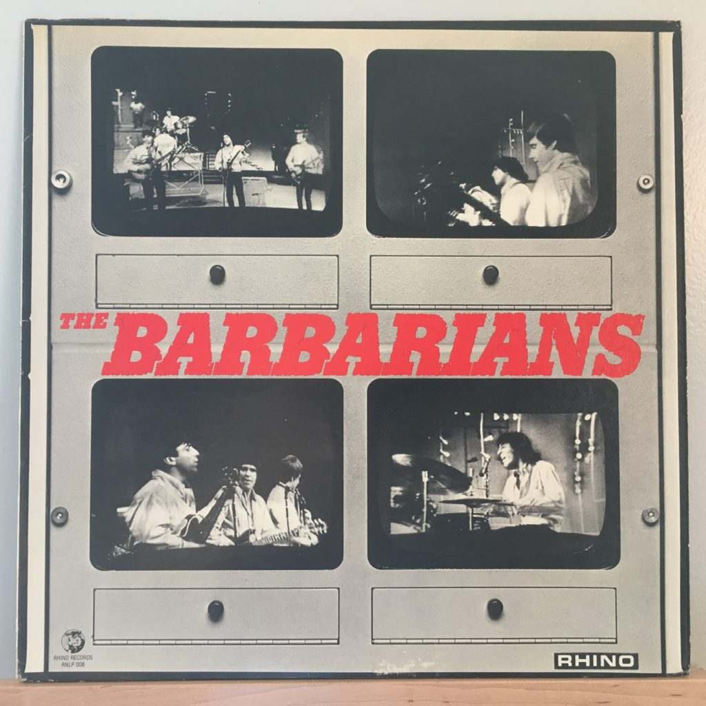 The Barbarians front cover