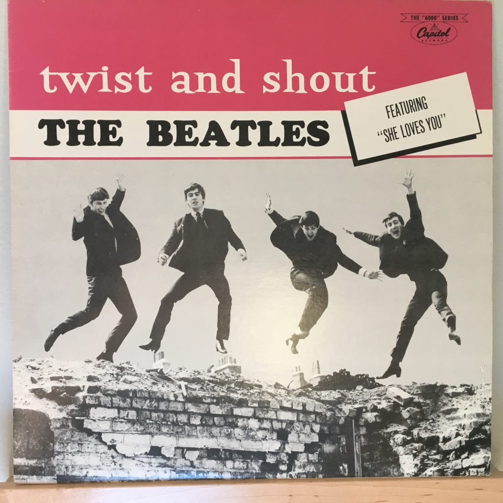 Twist and Shout front cover