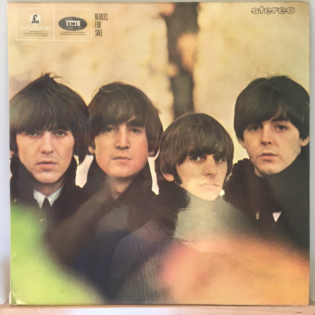 Beatles For Sale front cover