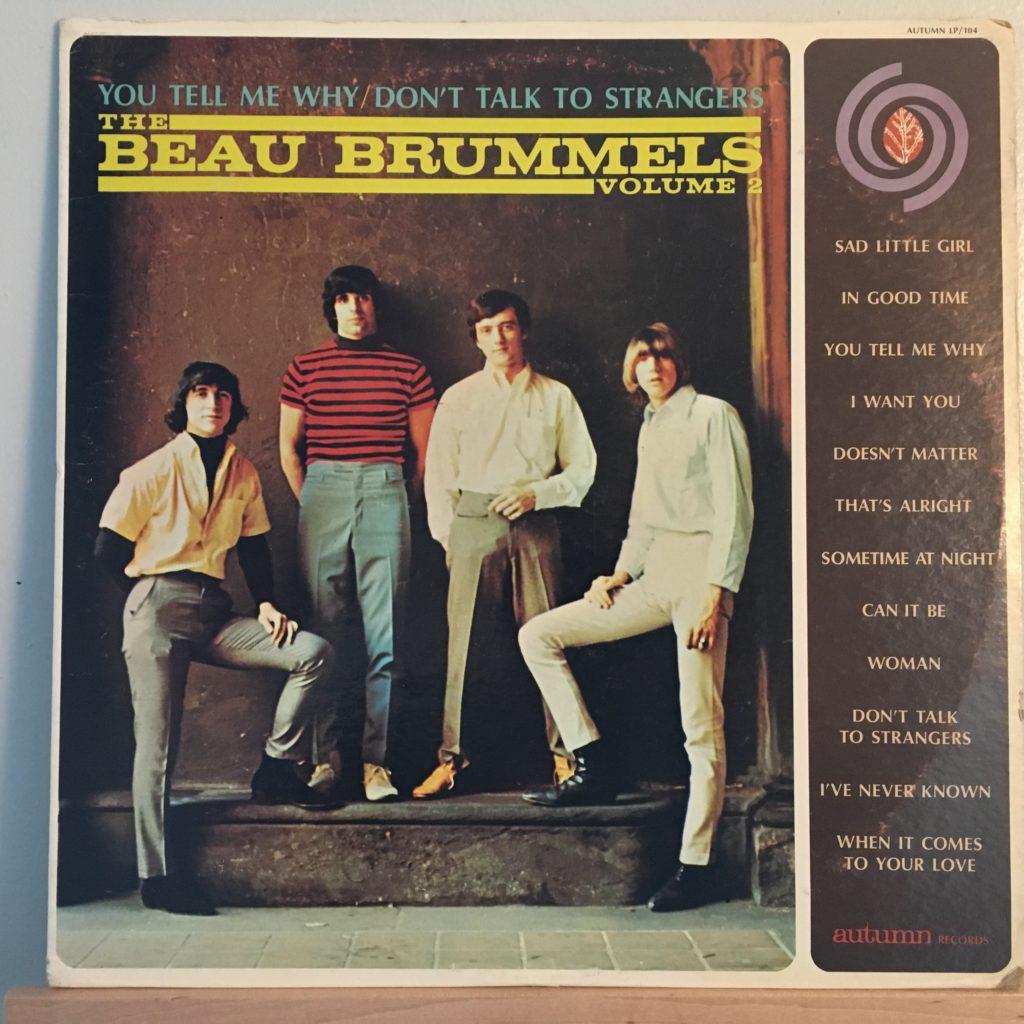 Beau Brummels Volume 2 front cover