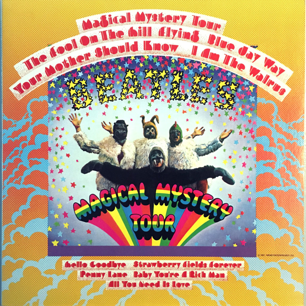 Magical Mystery Tour Front Cover