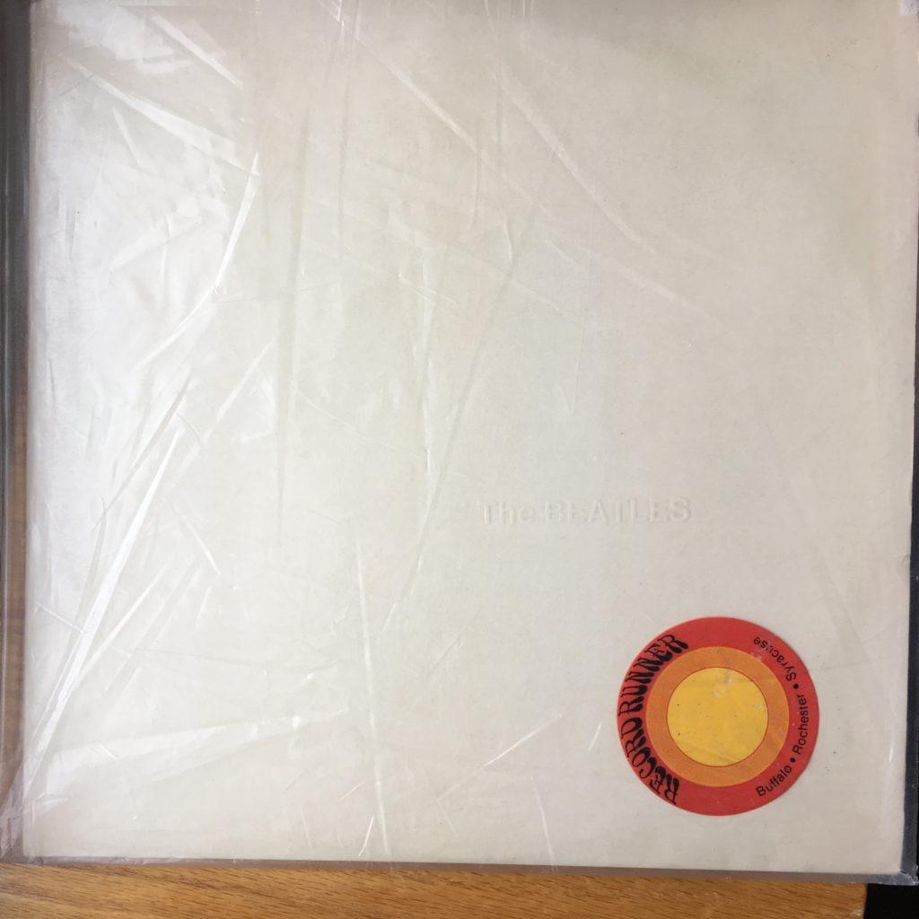 White album Record Runner bag