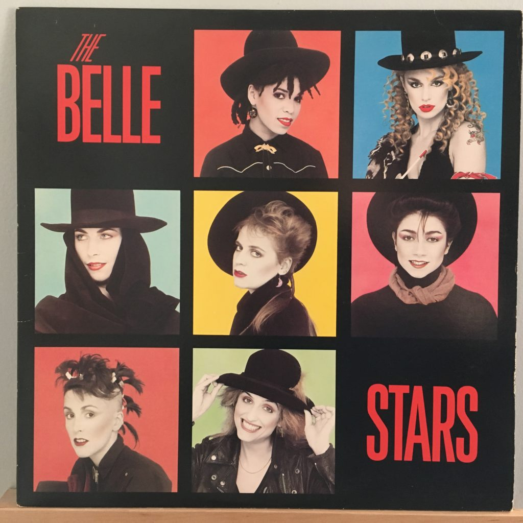 The Belle Stars eponymous album cover