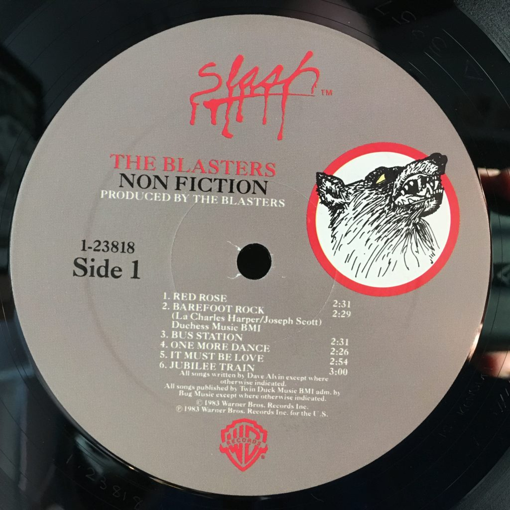Blasters Non-Fiction Slash label