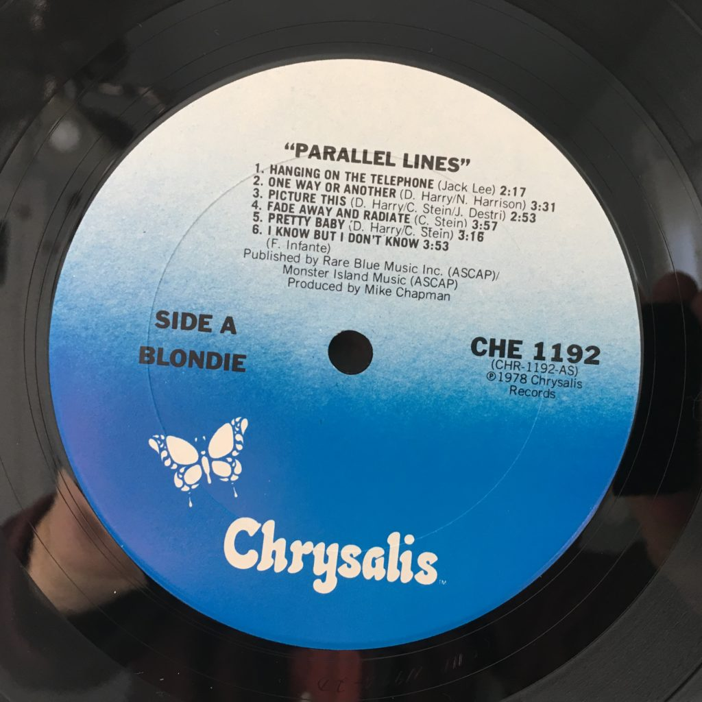Chrysalis label