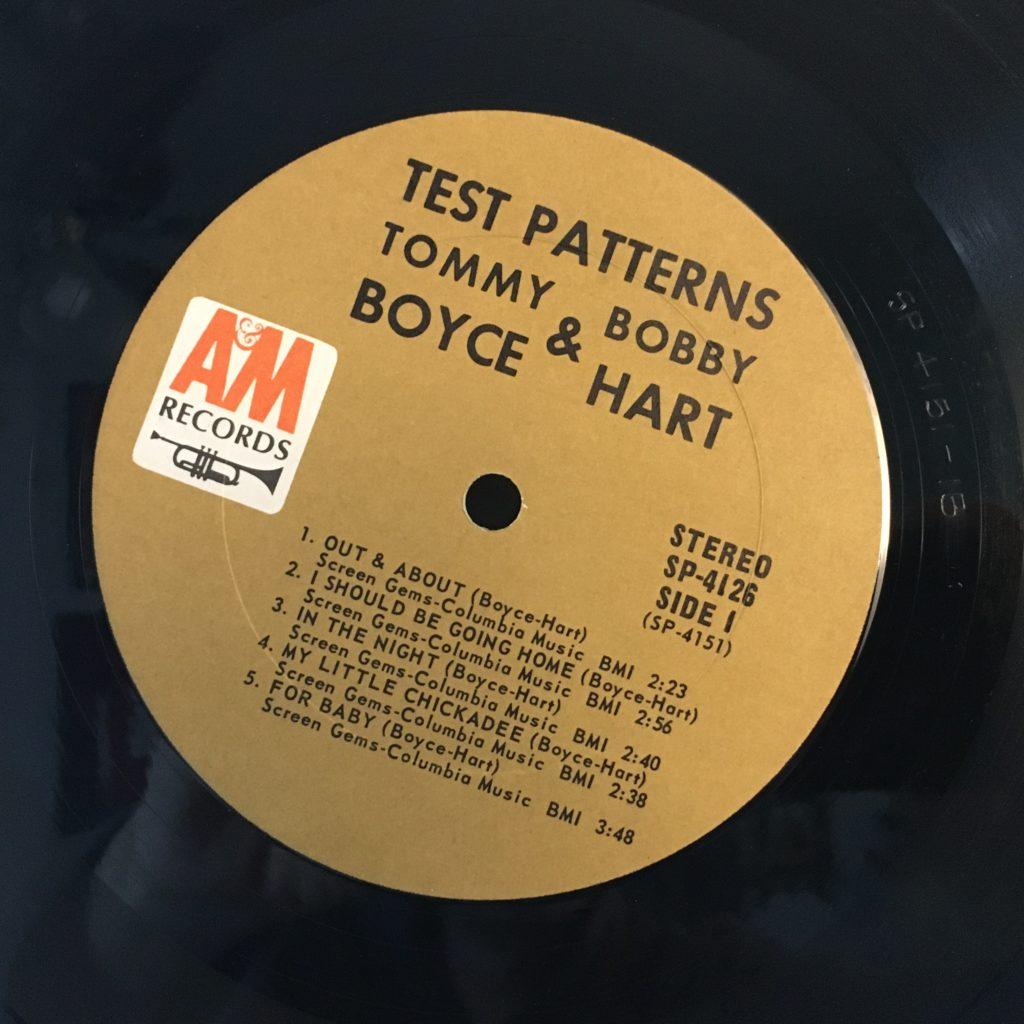 Test Patterns label