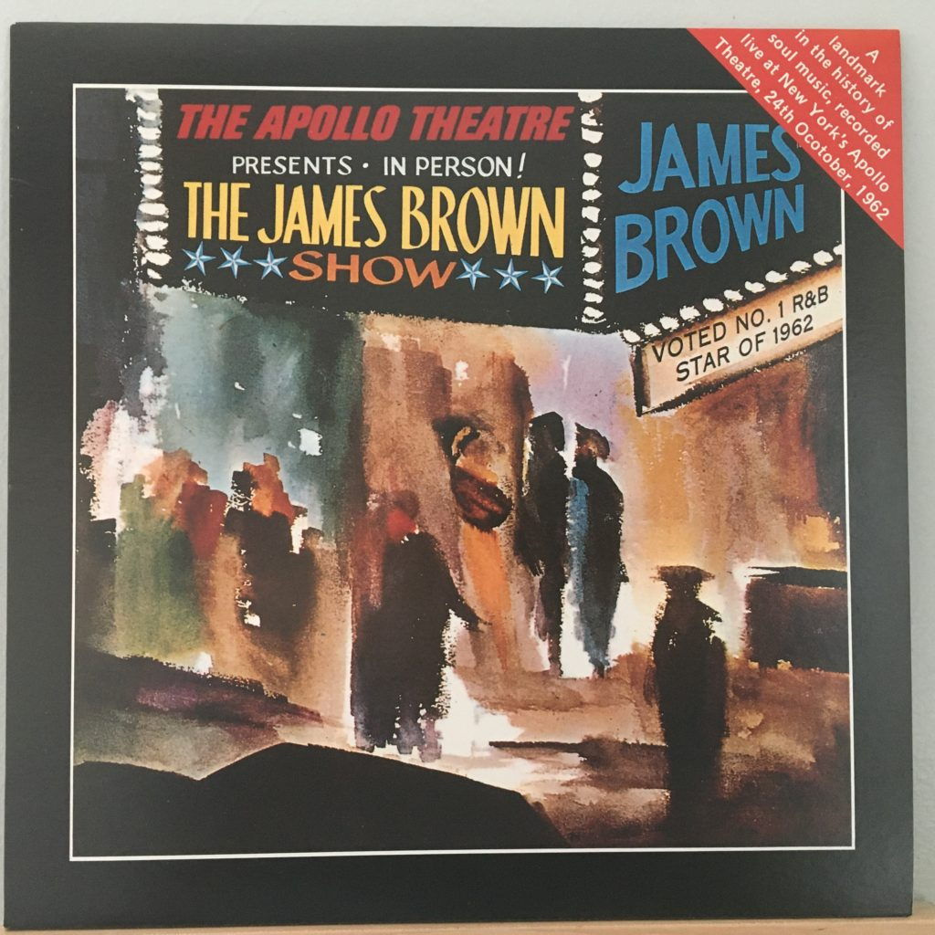 James Brown at the Apollo front cover