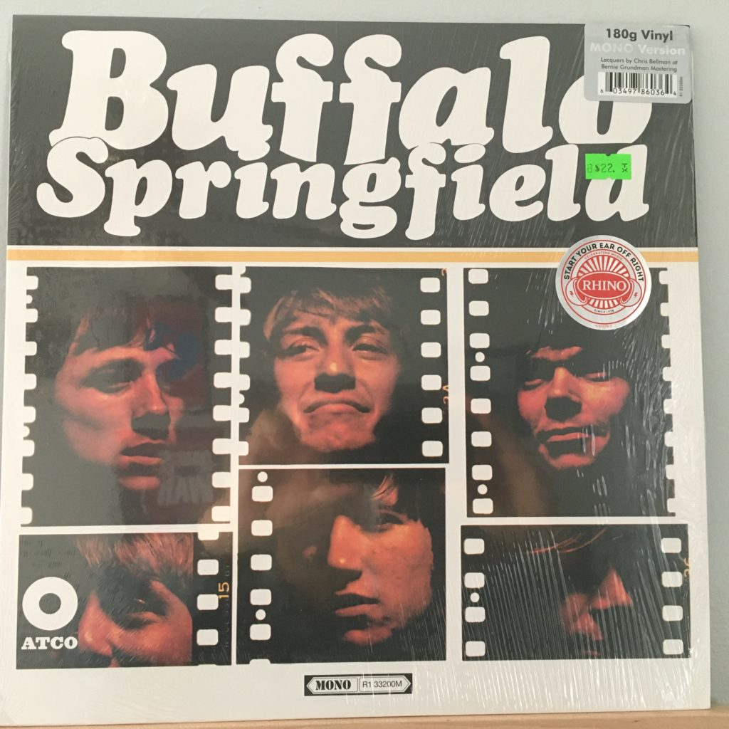 Buffalo Springfield front cover