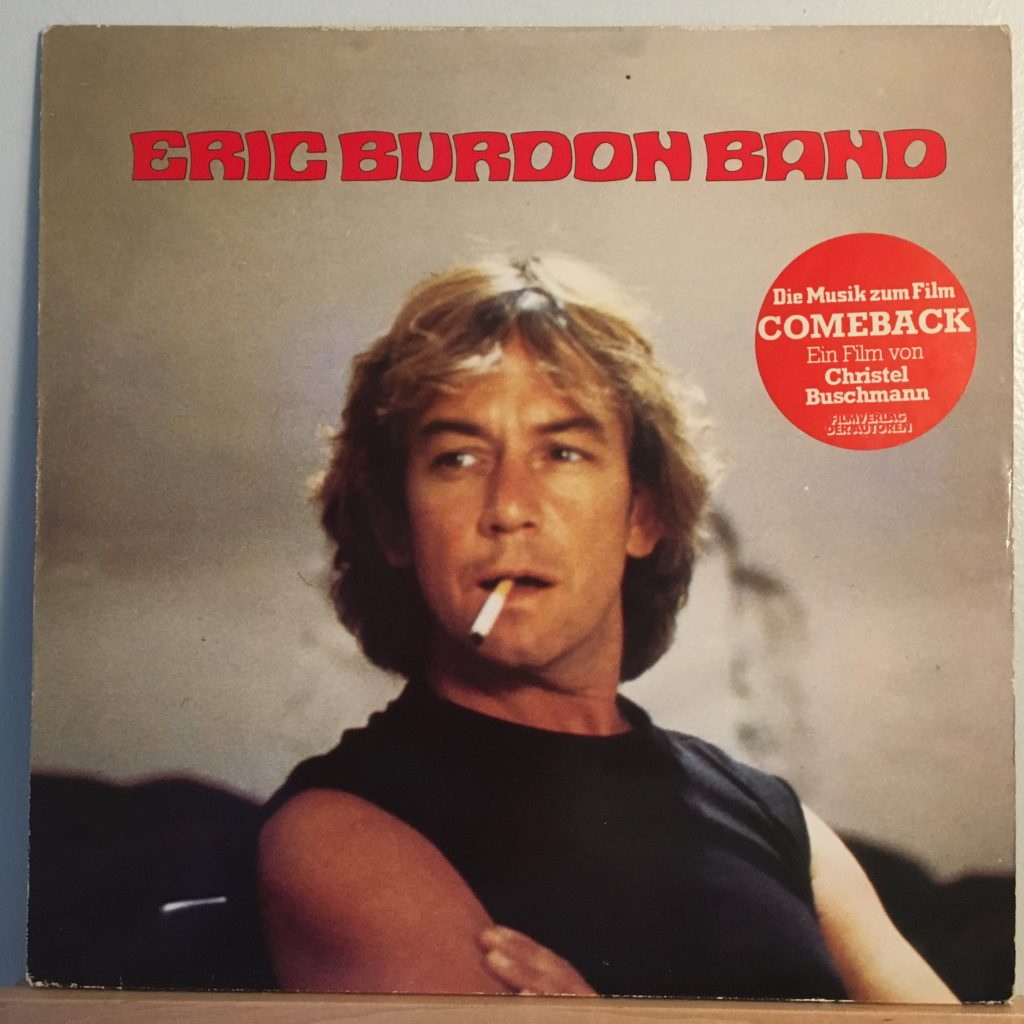 Eric Burdon Band front cover