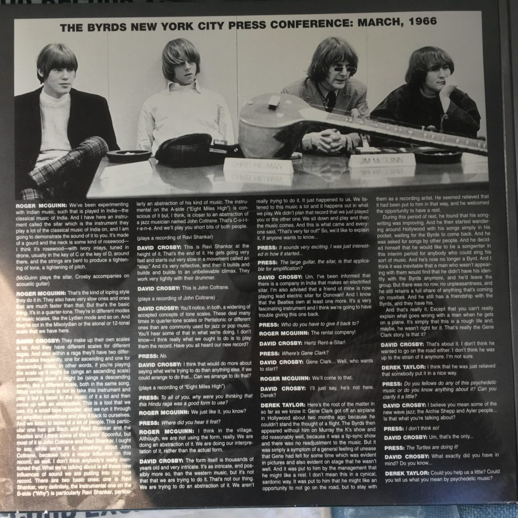 Another Dimension gatefold left