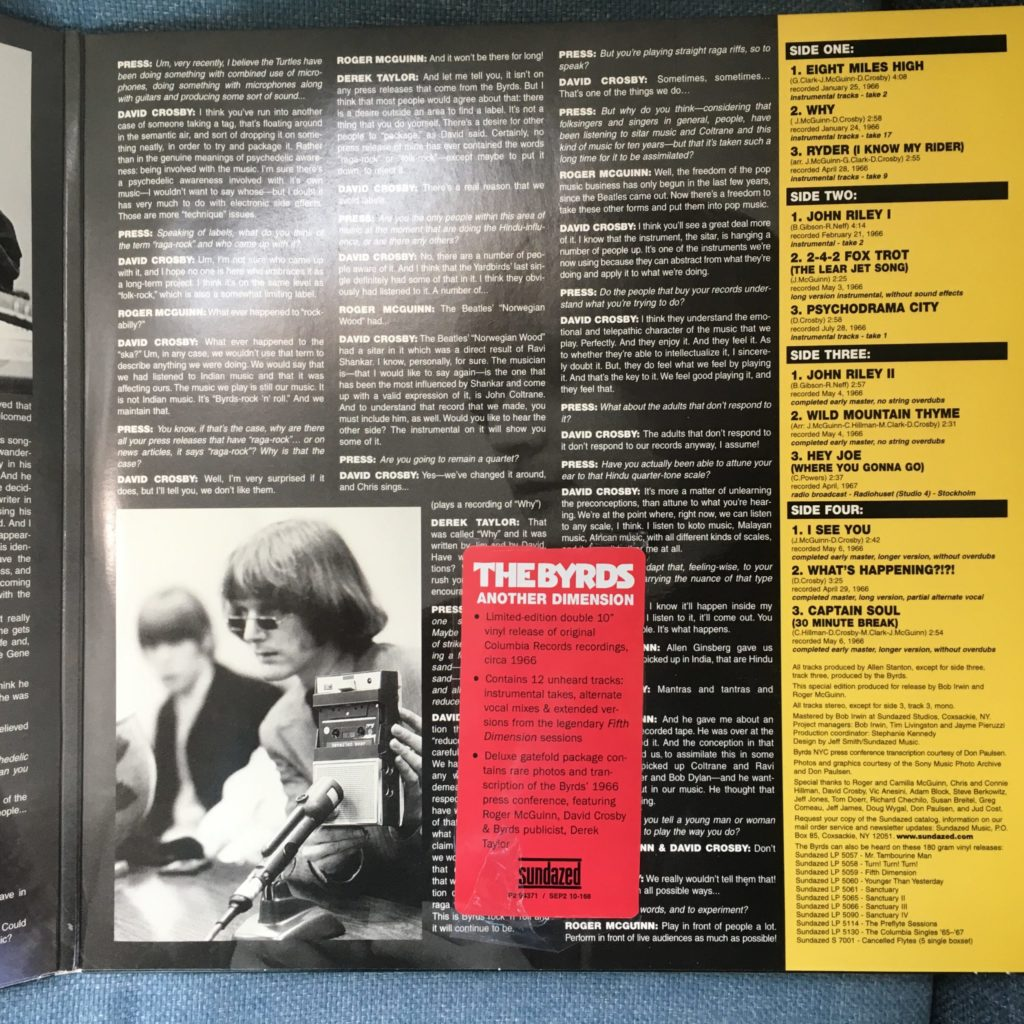Another Dimension gatefold right