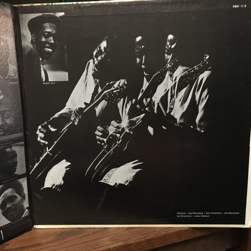 Chicago Blues Gatefold Left