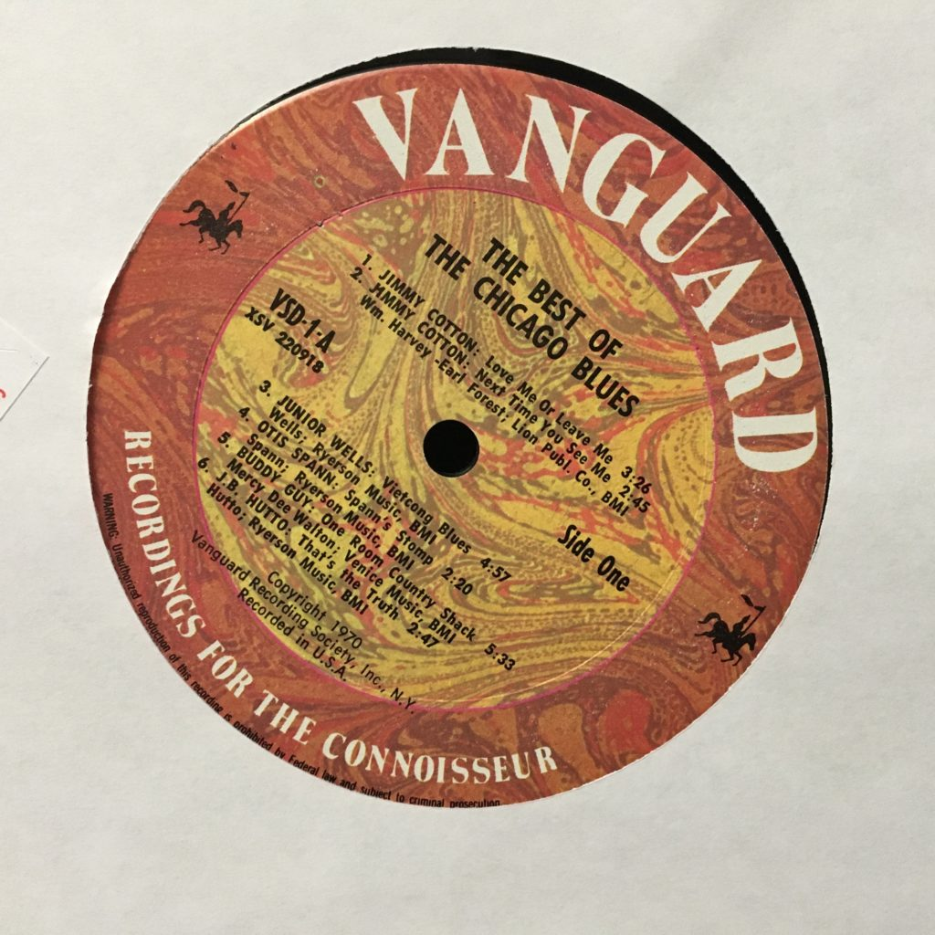 The Vanguard Label