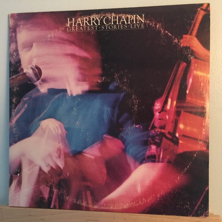 Harry Chapin Greatest Stories Live front