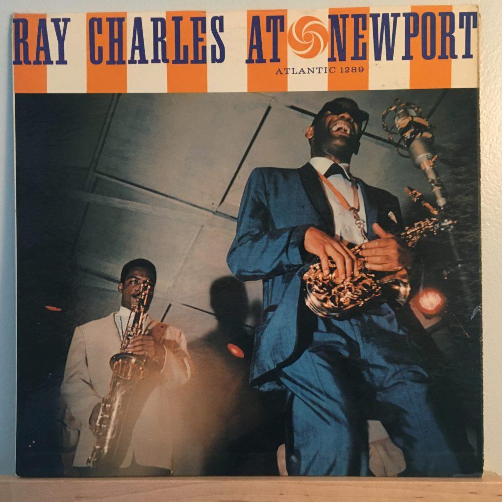 Ray Charles at Newport front cover