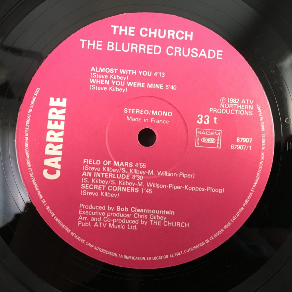 Blurred Crusade label
