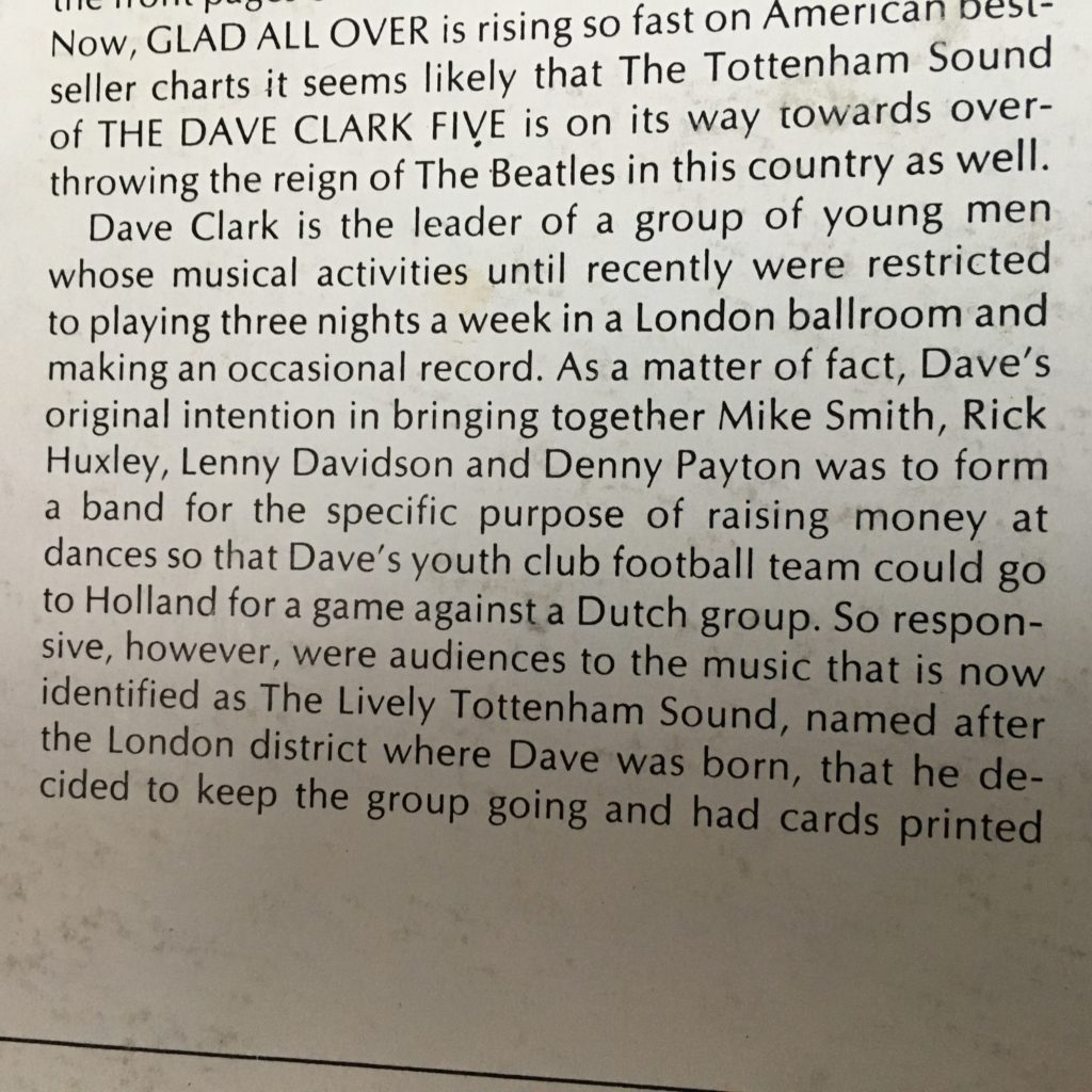 GAO liner note