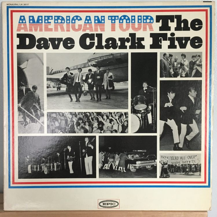 American Tour front cover