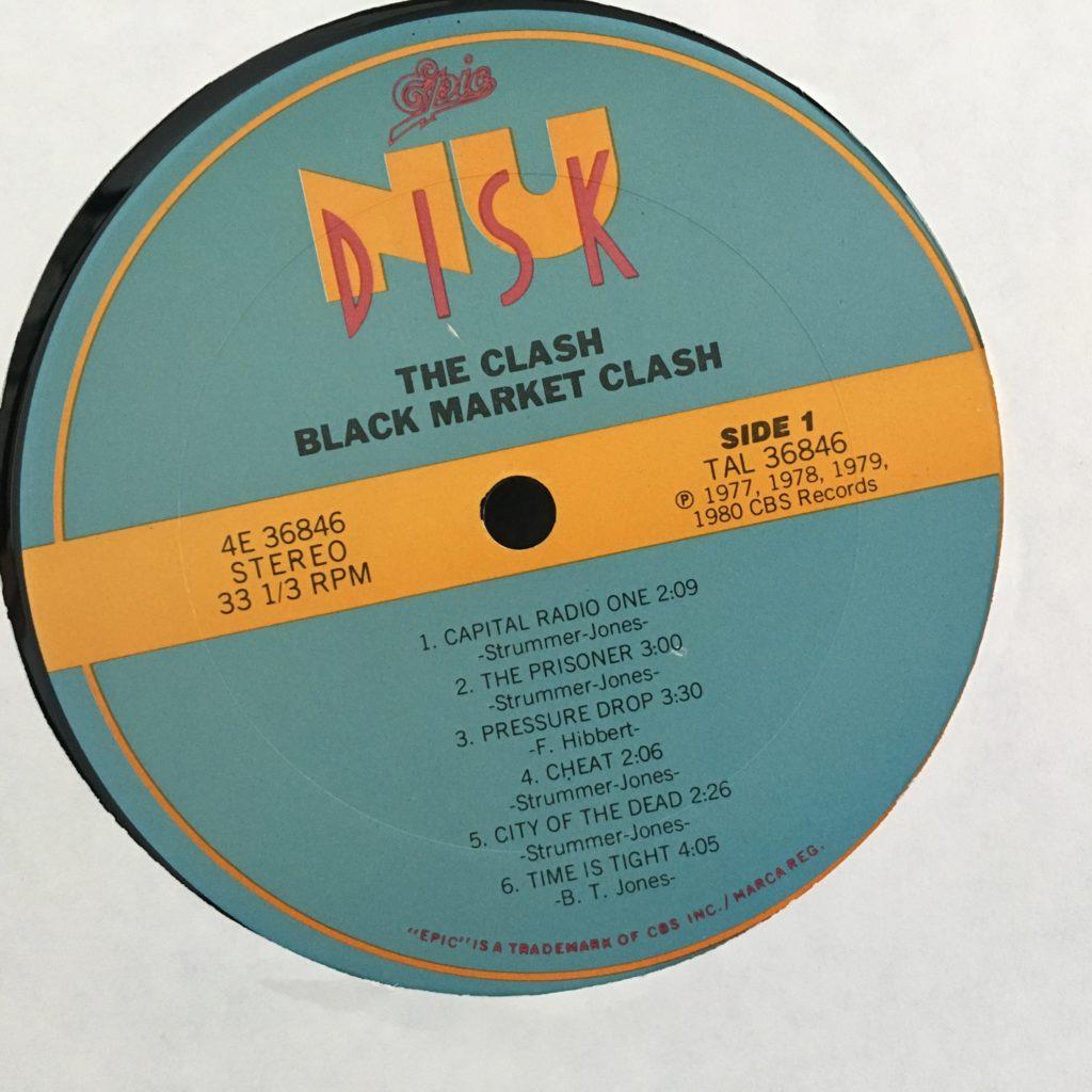 Black Market Clash label
