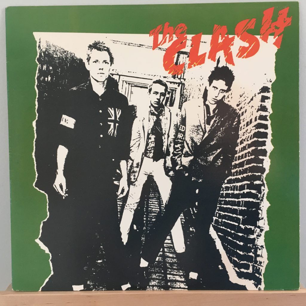 The Clash front cover