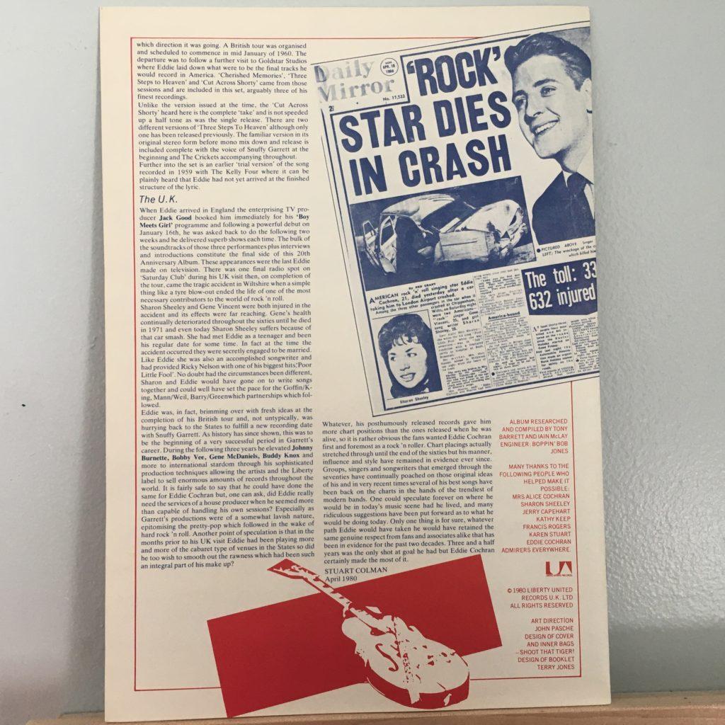 Box set booklet