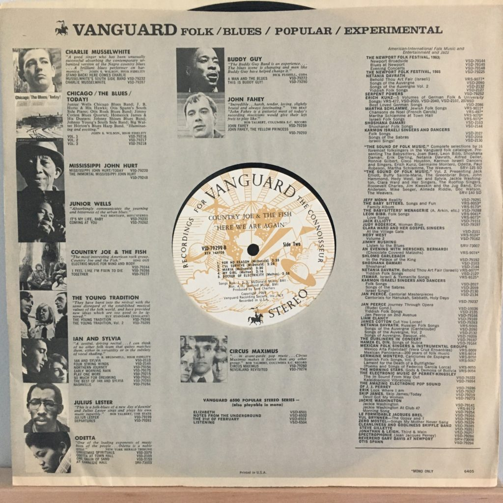 Vanguard promo sleeve 2