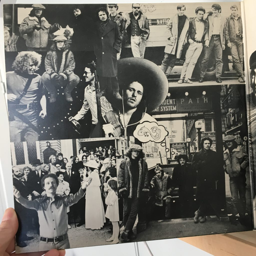 Life and Times gatefold left