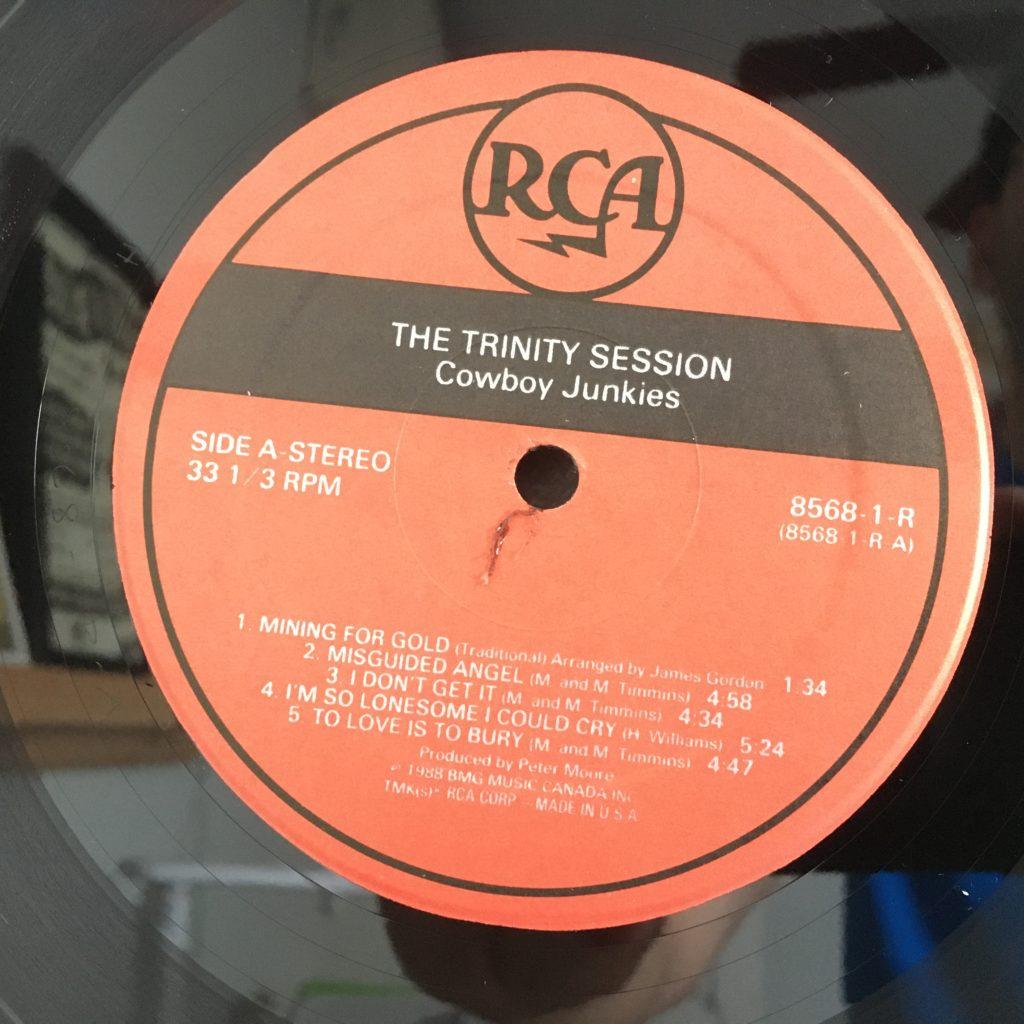 Nice RCA label