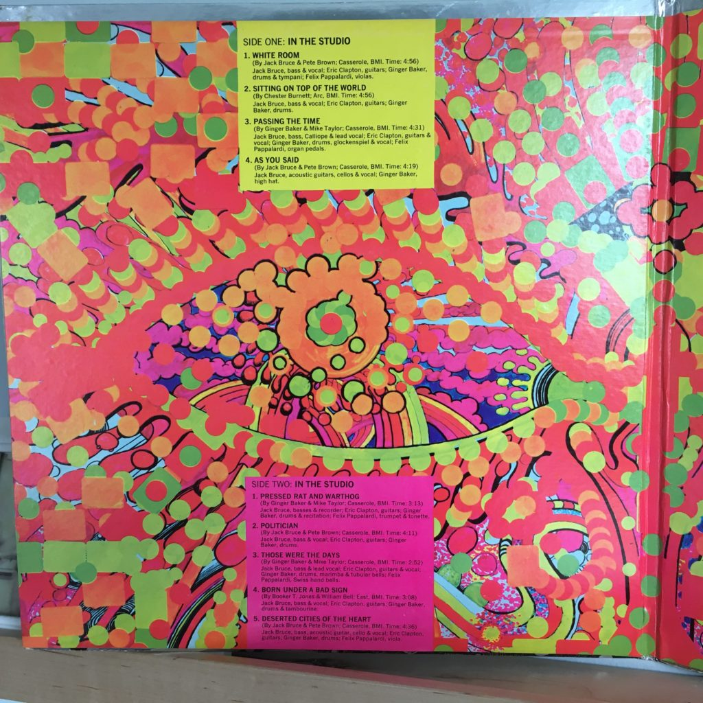 Wheels of Fire gatefold left