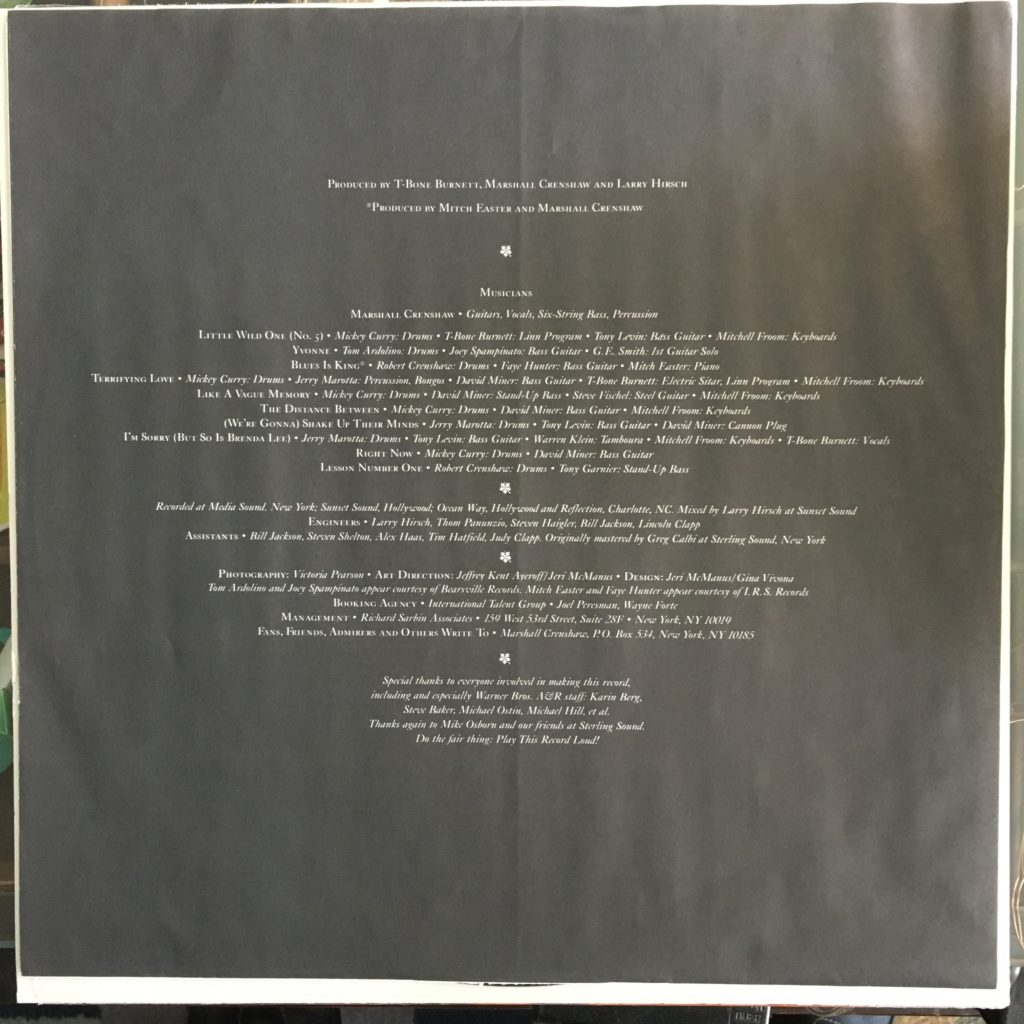 Downtown sleeve credits