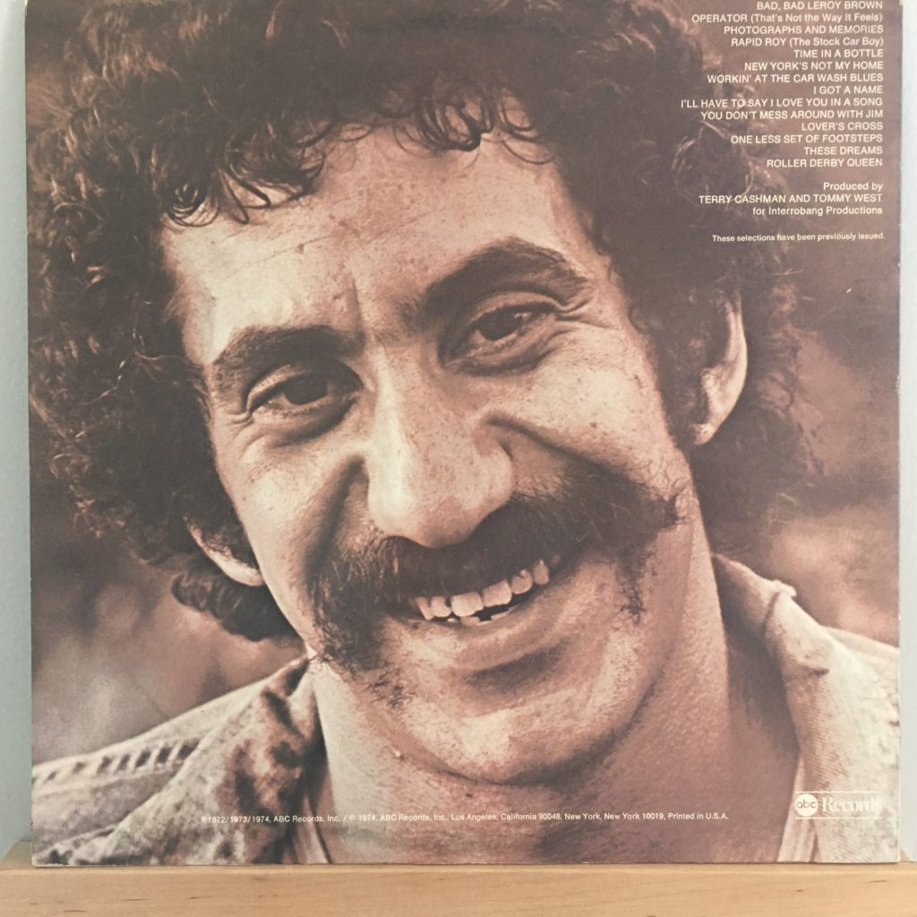 Jim Croce Photographs & Memories