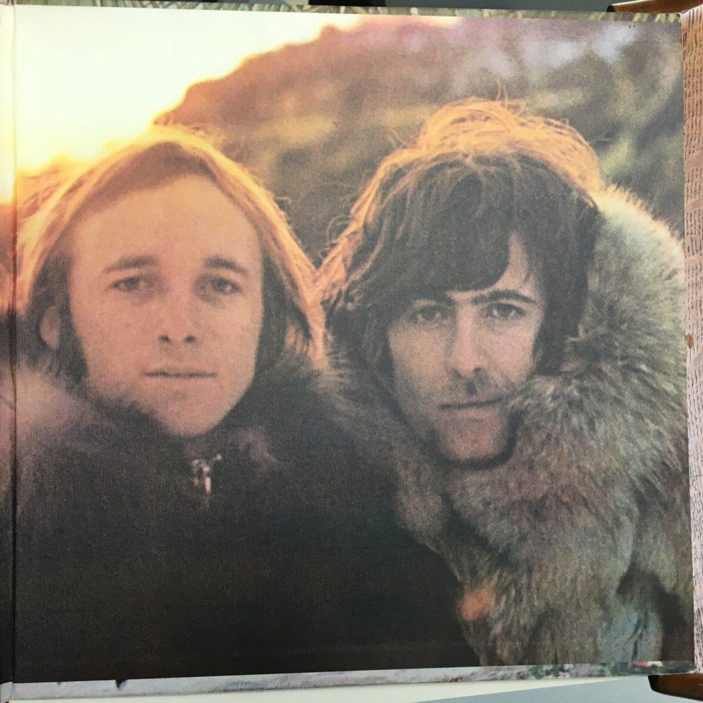 Stills and Nash on the second gatefold