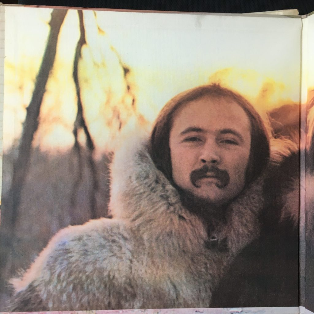David Crosby on the second gatefold
